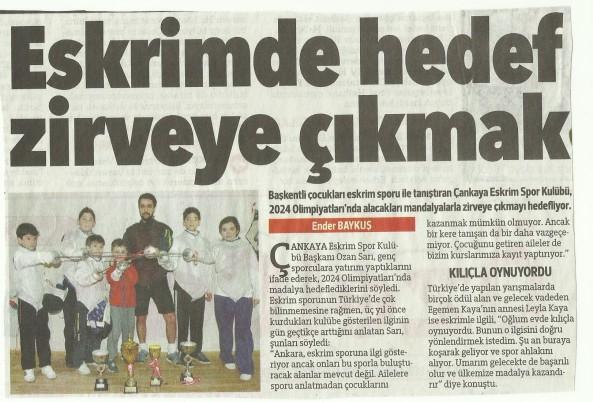 Hurriyet Ankara Çankaya Eskrim